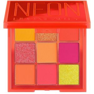 NWT nib HUDA beauty neon obsession orange pink